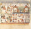 Nakht and Family Fishing and Fowling, Tomb of Nakht MET DT12059.jpg