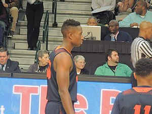 2016–17 Bucknell Bison men's basketball team - Image: Nana Foulland 2017
