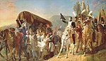 Napoléon rend hommage au courage malheureux..jpg