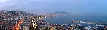 A view of Naples.