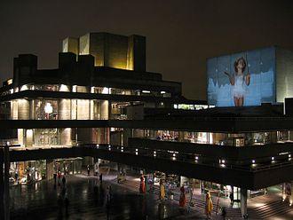 The Illuminatus! Trilogy - London's National Theatre, seen from Waterloo Bridge
