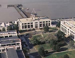 William Sterling Parsons - Naval Research Laboratory complex on the Potomac River in Washington, DC