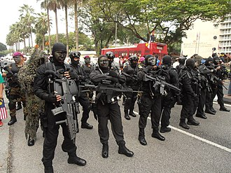 National Special Operations Force (Malaysia) - PASKAL which are routinely joint training with KOPASKA, Royal Marines and Navy SEALs is Malaysia's No.1 Special Force.