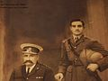 Nawab Mir hahsim ali khan & col. subhan ali khan(hashim nawaz jung's son).JPG