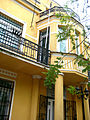 Ndërtesa ku është vendosur biblioteka e vogël e qytetit - Ferizaj 05.jpg