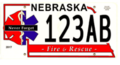 Nebraska Serious Injury & Line-of-Duty Death Response Team License Plates.png