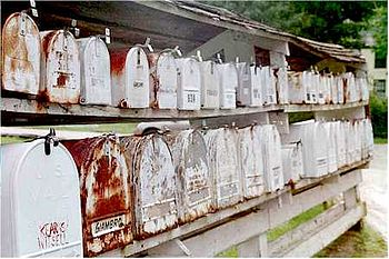 Mailboxes, Nelson, New Hampshire
