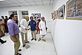 Nemai Ghosh Accompanied By Biswatosh Sengupta Visiting 1st Four Ps Group Exhibition - Kolkata 2019-04-17 5254.JPG