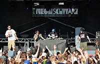 Neonschwarz beim Wilwarin Festival 2014