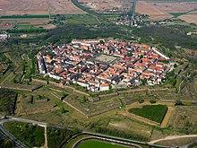 Neuf-Brisach vue aérienne