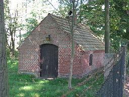unter Denkmalschutz stehendes Backhaus im Liebenwalder Ortsteil Neuholland, Zehdenicker Damm 6