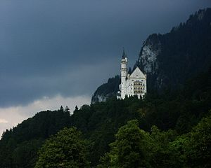 English: Neuschwanstein Castle, Bavaria, Germa...