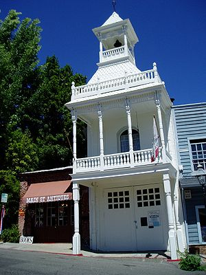 Nevada City, California - Image: Nevada City CA95959b