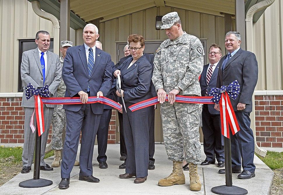 New VA Clinic Dedication at Camp Atterbury, Ind. 05