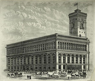 2 Broadway - New York Produce Exchange (1883)