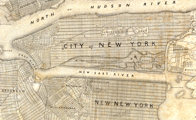 New York and Vicinity as Proposed to be Remodeled crop