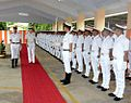 New Zealand Navy Rear Admiral Jack Steer inspecting a Guard of Honour at Kochi.jpg