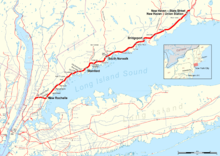 Nyc Subway Map N Line.New Haven Line Wikipedia