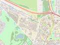 Newcastle University Open Street Map.png