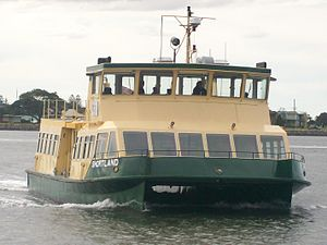 Newcastle Buses & Ferries - MV Shortland