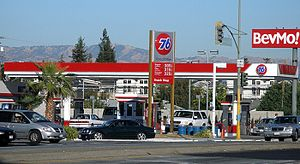 76 (gas station) - The newer sign design