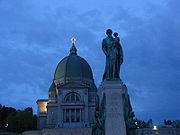 Saint Joseph's Oratory is the largest church in Canada.