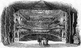 The Black Crook - View from the stage