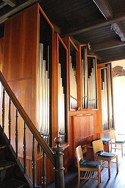 Niederbexbach Jakobuskirche Innen Orgelprospekt 02.JPG
