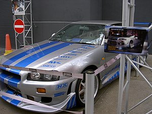 Paul Walker - Walker drove a Nissan Skyline GT-R in 2 Fast 2 Furious.