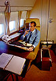 Nixon in Pres cabin of AFO.jpg
