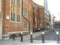 No way through at John Carpenter Street - geograph.org.uk - 966994.jpg