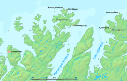 Location in Finnmark