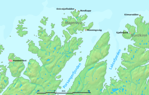 North Cape Norway Wikiwand - Norway vegetation map