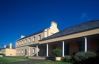 History of Norfolk Island - Convict buildings