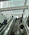 North stairs at Government Center station, March 2016.jpg