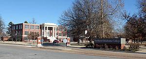 Northern Oklahoma College - The Tonkawa campus in late 2013