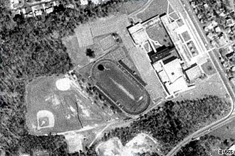 Northwestern High School (Hyattsville, Maryland) - The Northwestern High School campus circa 1951-2000