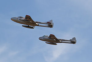 No. 337 Squadron RNoAF - Heritage Norwegian Vampires