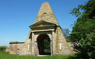 Nostell Priory - Obelisk Lodge at Nostell Priory
