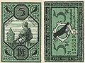 Notgeld 1921 Merseburg Enrico I l'Uccellatore.jpg