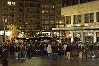 Nuit de fête Place Flagey.JPG