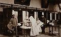Nuns nursing a wounded man at the Hôtel Dieu Wellcome V0049860.jpg