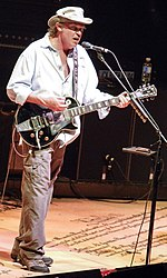 Neil Young playing Old Black