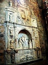 Sepulcro plateresco del Obispo Zuazola, Capilla de la Piedad