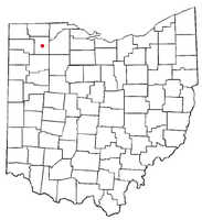 Location of Malinta, Ohio