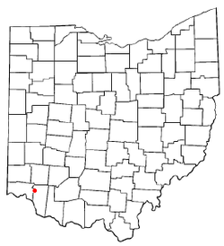 Location of Milford, Ohio