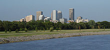 OKC Skyline from OK river.jpg