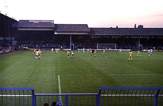 Luton Town F.C. - A home match at Kenilworth Road in 1980
