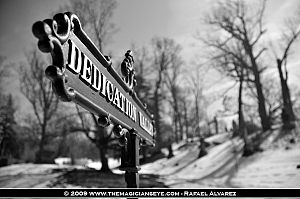 Oakwood Cemetery (Syracuse, New York) - Image: Oakwood Cemetery Dedication Valley (Syracuse, NY)