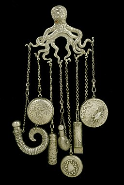 Octopus Shaped Chatelaine